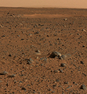 Mars. Photo credit: NASA/JPL/Cornell