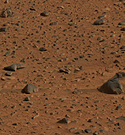 Mars. Photo credit: NASA-JPL-Cornell