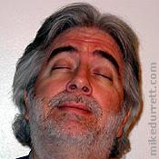 Photo: Head back, Mike daydreams.