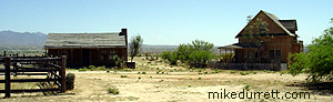 Earp houses in Tombstone. Photo copyright 2003-2004 Mike Durrett, all rights reserved.