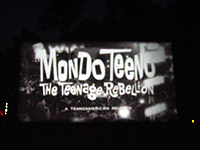 The trailer from Mondo Teeno warned about The Now Generation and turtleneck dickies.