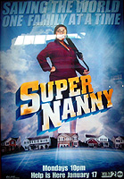 Photo: Poster for TV's ''Super Nanny''