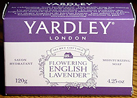 Photo: Yardley English Lavender soap