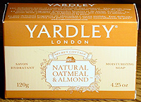 Photo: Yardley Oatmeal soap.